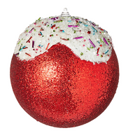 Frosted Candy Bauble