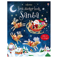 First Sticker Book Santa
