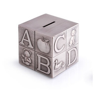Alphabet Cube Money Box