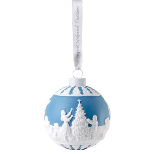 Wedgwood Dressing The Christmas Tree Bauble