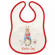 Beatrix Potter Peter Rabbit Christmas Bib