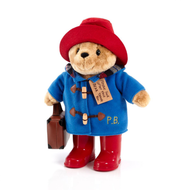 Paddington With Boots Embroidered Coat And Suitcase Large