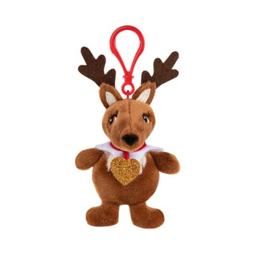 Plushie Pal Reindeer with Clip