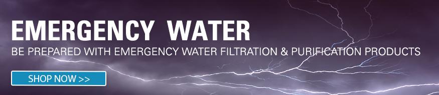 emergency water purification