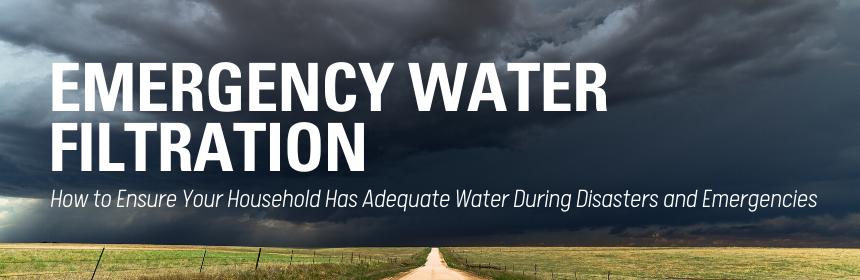 best emergency water filter system