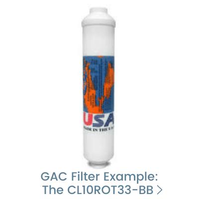 GAC Granular Activated Carbon Water Filter