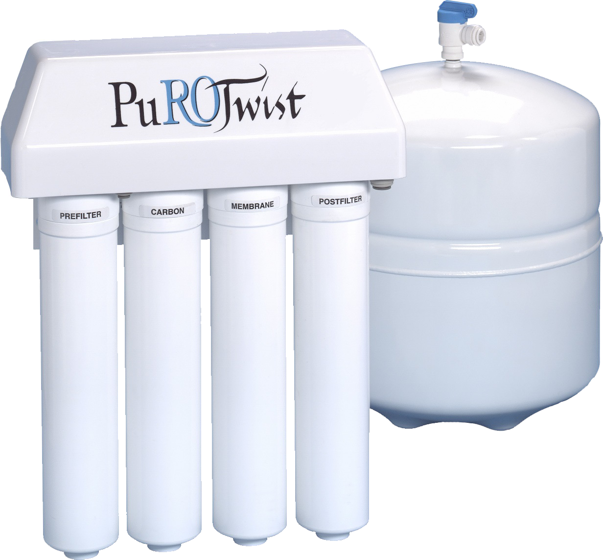 PuROTwist Reverse Osmosis Filter System