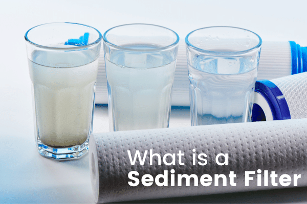 Sediment filter for well water and whole house applications
