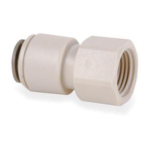 John Guest John Guest Faucet Connector 1/4 QC x 7/16 Female Threads White CI3208U7S CI3208U7S