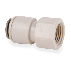 John Guest John Guest Faucet Connector 3/8 QC x 7/16 Female Threads White CI3212U7S CI3212U7S