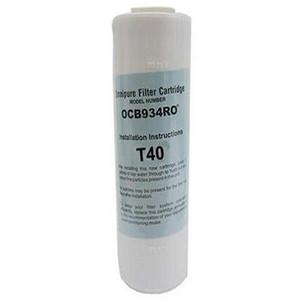 Omnipure Omnipure 2.5 x 9.75 GAC T40 Carbon Filter OCB934RO T40 OCB934RO T40