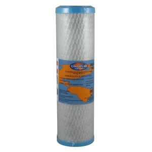 Omnipure Omnipure 2.5 x 10 1 Mic Carbon Block Filter OMB934-1m OMB934-1m