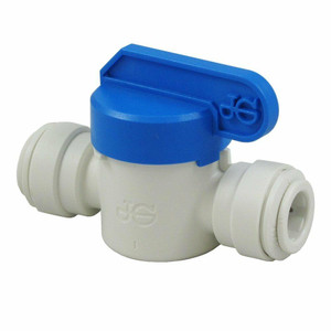 John Guest John Guest Inline Ball Valve with 3/8 x 3/8 Quick Connect Fittings PPSV041212W PPSV041212W