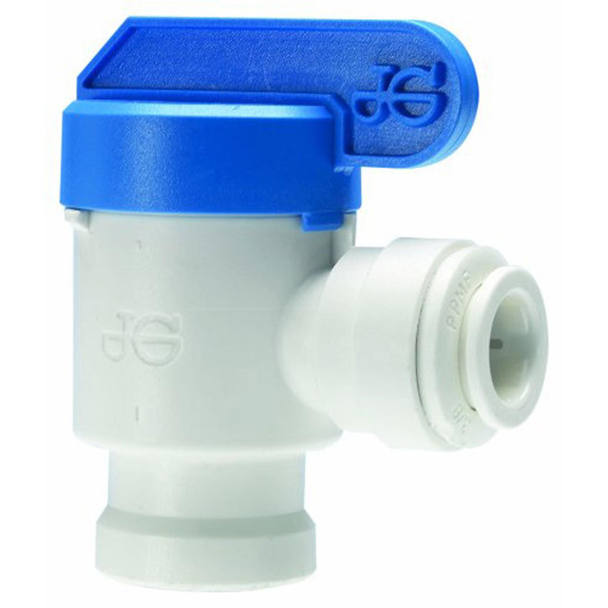 "1//4/"" 3//8/"" Push Fit Pipe Tube Shut-off Ball Valve Tank Valve RO Aquarium"