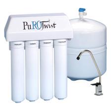PuROTwist PuROTwist 4000 Reverse Osmosis 50 gpd 4-Stage System PT4000T50-SS PT4000T50-SS