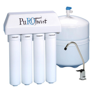 PuROTwist PuROTwist 4000 Reverse Osmosis 50 gpd 4-Stage System PT4000T50-SS PT4000T50-SS