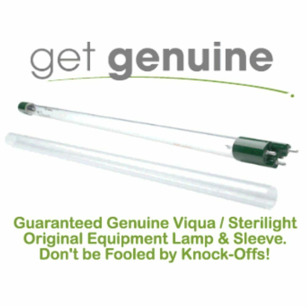 LSE Lighting S287-QL UV Lamp//Quartz Sleeve Combo Kit