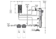 Viqua Viqua PRO10 UV 650647 NFS Class-A Ultraviolet Water Sterilizer 650647-