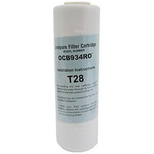 Omnipure Omnipure 2.5 x 9.75 GAC T28 Carbon Filter OCB934RO T28 OCB934RO T28