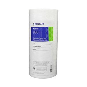 Pentair Pentair DGD-2501 4.5 x 10 1 Mic Big Blue Dual Grade Poly Sediment Filter 155359-43 155359-43