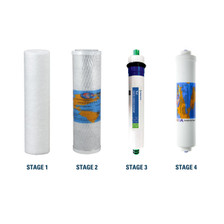 Purevalue RO 4ez50 Compatible Filters Replacement Kit with Reverse Osmosis Membrane and Carbon Block Filter YSM-4EZ50