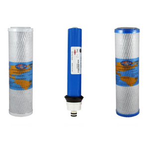 Rainsoft 21179 Compatible Reverse Osmosis Filter Replacement Kit with RO Membrane and Carbon Filters for Rain-Soft YSM-RS21179