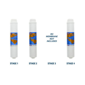 1-Year Filter Replacement Kit for PuROTwist 4000 Reverse Osmosis System 50 GPD RO Membrane Sold Separately YS-PURO4T50