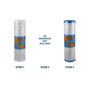 1-Year Replacement Filter Kit for RainSoft 21179 Reverse Osmosis System RO Membrane Sold Separately YS-RS21179