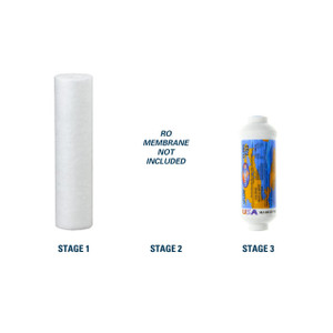 1-Year Replacement Filter Kit for RainSoft 9590C Reverse Osmosis System RO Membrane Sold Separately YS-RS9590C