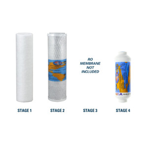 1-Year Replacement Filter Kit for RainSoft 9596 Reverse Osmosis System RO Membrane Sold Separately YS-RS9596