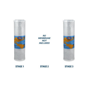 1-Year Replacement Filter Kit for RainSoft UF50 Reverse Osmosis System RO Membrane Sold Separately YS-RSUF50