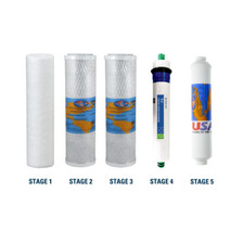 Proline Plus Compatible RO Filter Replacement Kit with Membrane, Reverse Osmosis Drinking Water Change Bundle YSM-PROPLUS
