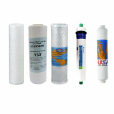 1-Year Replacement Filter Kit with RO Membrane for Proline Reverse Osmosis System YSM-PRO