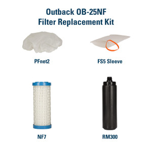 Outback Filter Replacement Kit for the Outback Plus OB-25NF YS-OB25NF
