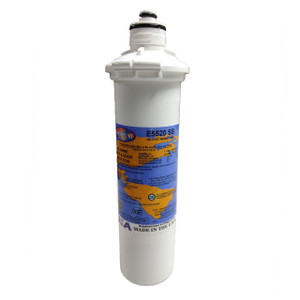 Omnipure Omnipure E-Series 2.5 x 10 1 Mic Carbon Block Filter with Cyst Reduction Everpure-Compatible E5520-SB E5520-SB