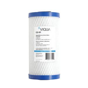 Viqua VIQUA 4.5 x 10 10 Mic Carbon Block Filter C2-01PB C2-01PB