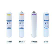 Hydro Guard HDGT-45 Replacement Filter Bundle with 50 GPD TFC Reverse Osmosis Membrane YSM-HDGT-45 Quick and Easy Filter Cartridges YSM-HDGT-45