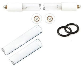 Atlantic Ultraviolet Aqua Treatment Services Maintenance Kit with Lamp, Sleeve, and O-Rings for ATS DWS-8C UV System 28-5050 28-5050