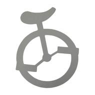 "Unicycle Sticker - 6"""