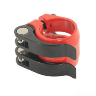 Nimbus DoubleQuick 31.8mm Seatpost Clamp - Red