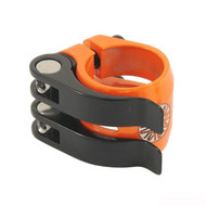 Nimbus DoubleQuick 31.8mm Seatpost Clamp - Orange