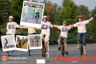 Unicycle Skills DVD