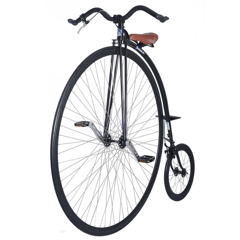 "48"" UDC MK3 PENNY FARTHING - BLACK/RED | Unicycle.com"