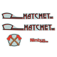 Hatchet Sticker Set