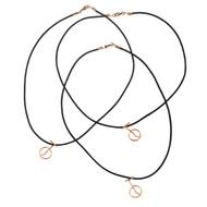 Unisex Unicycle Necklace