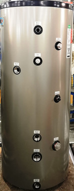 40 USG Stainless Steel indirect tank with single coil.