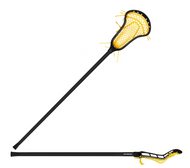 StringKing Complete 2 Women's Stick White with Yellow Mesh