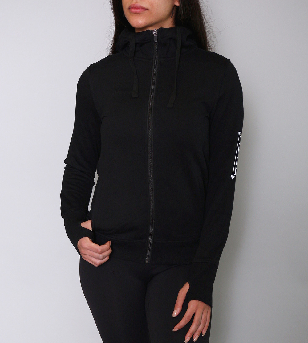 best service 1e9ea 2fac5 Signature Ultra Thick Mock-Neck Zip Up Hoodie