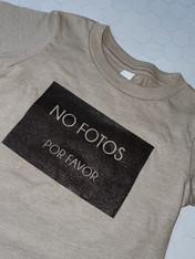 Baby/Toddler NO FOTOS POR FAVOR T-shirt
