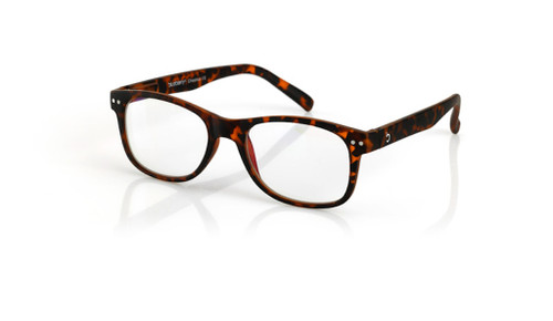Blue Light Reading glasses L chestnut, brown, tortoiseby the side, glasses for blue light by Blueberry
